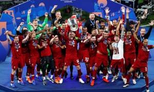 Liverpool lift Champions League, June 2019