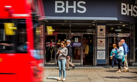 All 163 BHS stores will close in the coming weeks.
