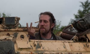Lost Vagueness founder Roy Gurvitz in a tank.