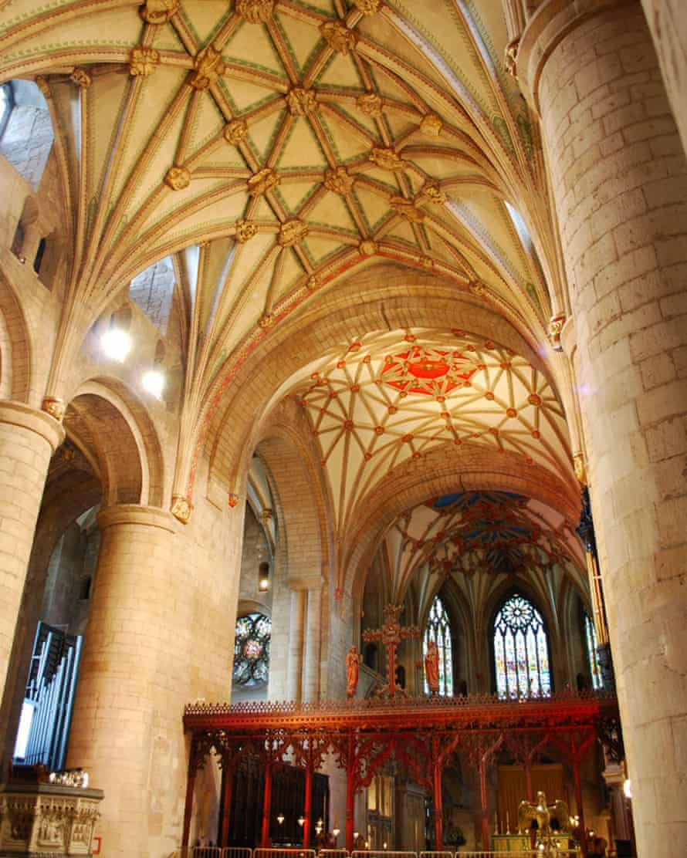 Tewkesbury Abbey, venue for Cheltenham festival's Classical Mixtape concert
