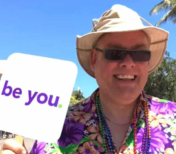 Bob on honeymoon in Miami in 2016.