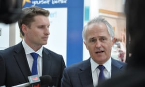 Malcolm Turnbull says Andrew Hastie (left) did not tell him he was going to use parliamentary privilege to make a bribery claim against Chau Chak Wing.