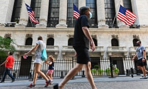 The New York Stock Exchange (NYSE) at Wall Street.
