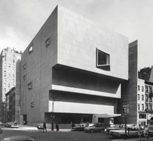 Whitney Museum of American Art, New York, New York, USA, 1966 by Marcel Breuer and Associates
