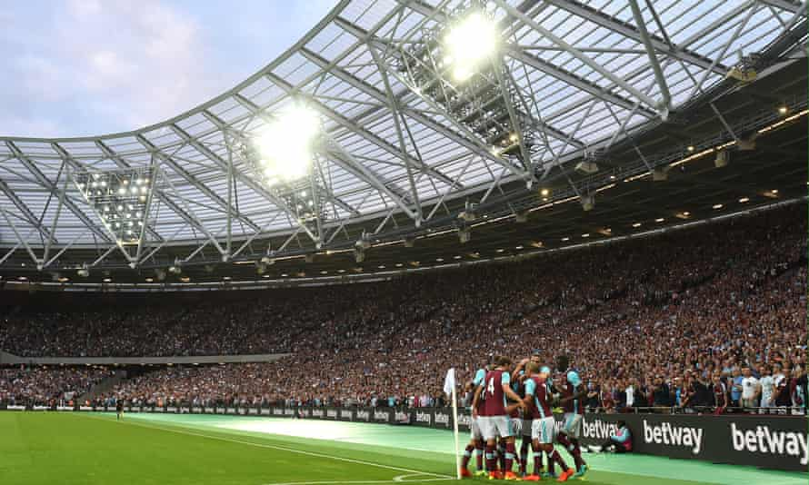 West Ham United at the former Olympic Stadium
