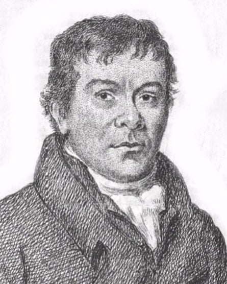 Robert Wedderburn's portrait, taken from his book.