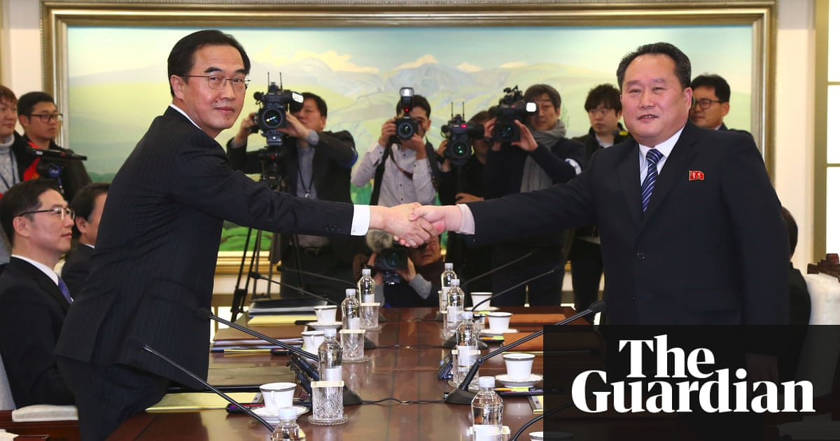 North korea agrees to send athletes to winter olympics after talks north korea agrees to send athletes to winter olympics after talks with south world news the guardian platinumwayz