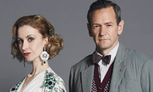 Baroness Schrader (Katherine Kelly) and Max Detweiler (Alexander Armstrong).