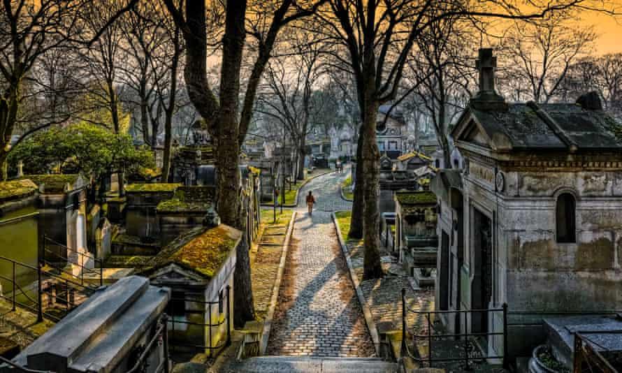 Père Lachaise cemetery in Paris.