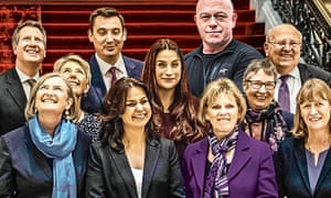 Ross Kemp with the Independent Group for Change.