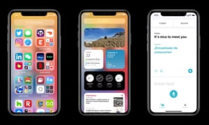 iOS 14 comes with new App Library, widgets on the home screen and Translate app.