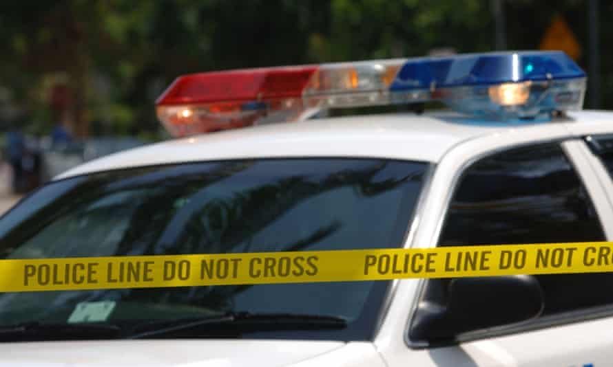 Three officers were wounded after Sunday's incident