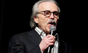 David Pecker, the chairman and CEO of American Media Inc, which owns National Enquirer, is a longtime friend of Donald Trump.