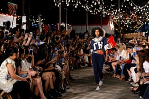 Tommy Hilfiger show at Pier 19 September, 2016.