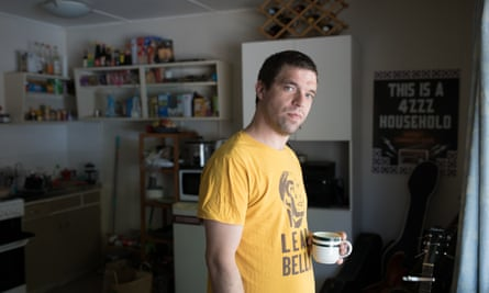 Nathan Kearney at home in Brisbane