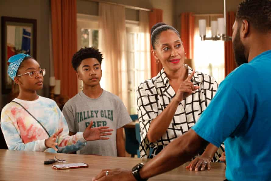 Tracee Ellis Ross in ABC's Black-ish Season Six, 2019