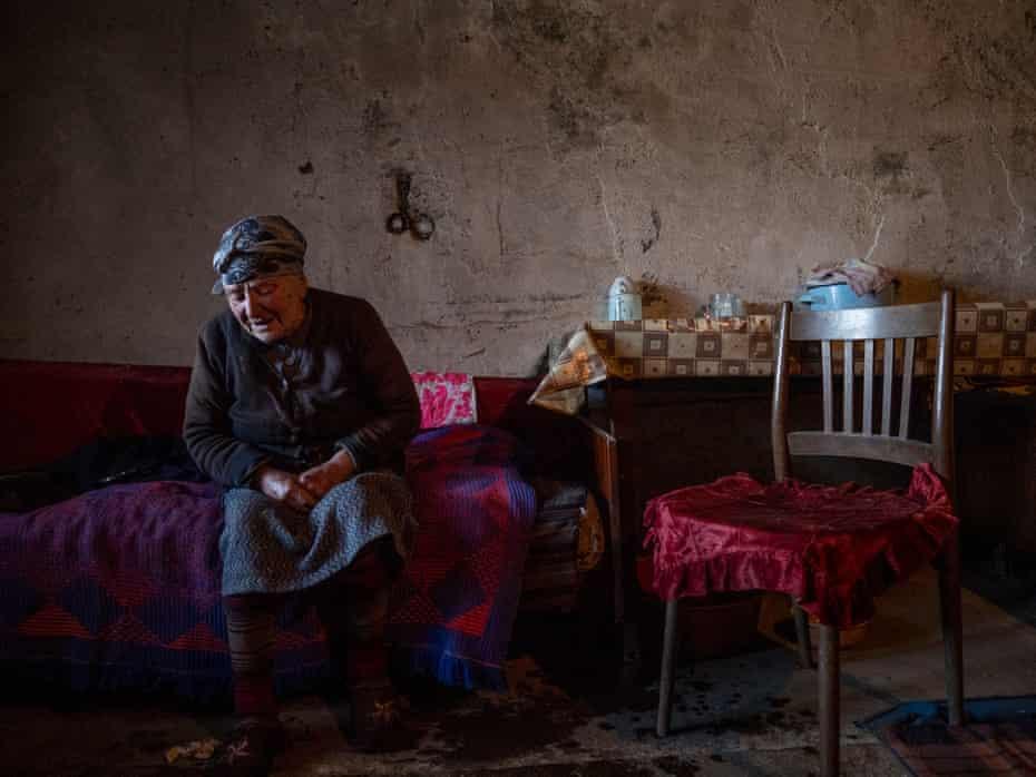 Lena Petrosyan, 88, in Gyurmi
