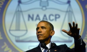 Obama addresses NAACP