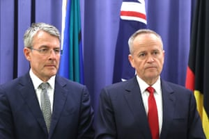 Bill Shorten and Mark Dreyfus announce Labor will pass the encryption bill without amendments.