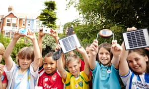Research has shown more than 70% of participants changed their behaviour to save energy after taking part in the Solar Schools scheme.