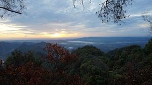 Sunrise at the Hadabuan Hills.