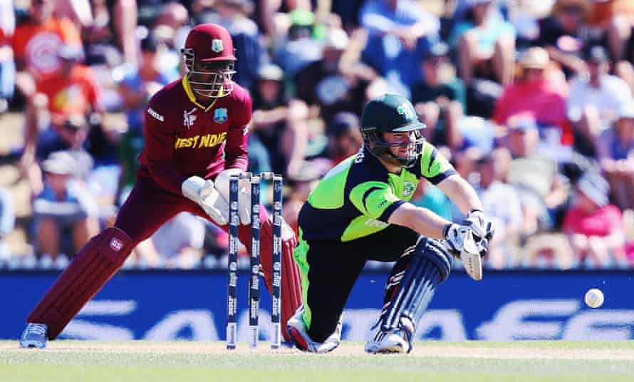 Paul Stirling hit 92 as Ireland made light work of the West Indian total in Nelson.