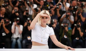 Cannes, FranceKristen Stewart poses during the photocall for 'Cafe Society' at the 69th annual Cannes film festival