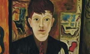 Uncanonised master … David Jones's Self-Portrait (1928).