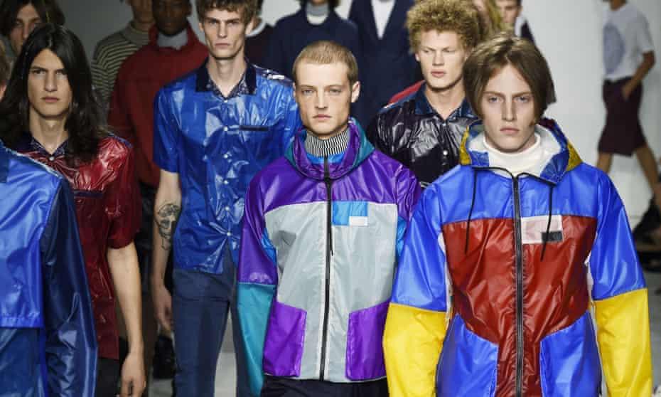 Patrik Ervell's anoraks at his spring summer 2018 New York Fashion Week Men's show last July.