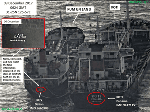 The action targets one individual, 27 entities and 28 vessels located, registered, or flagged in North Korea, China, Singapore, Taiwan, Hong Kong, Marshall Islands, Tanzania, Panama and Comoros.