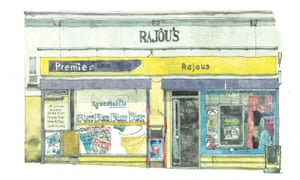 Rajous, Gibson Street, Glasgow
