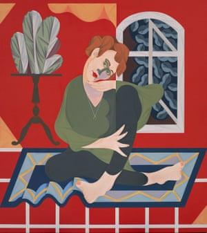 Mitch Cairn's Archibald prize winning portrait of Agatha Gothe-Snape