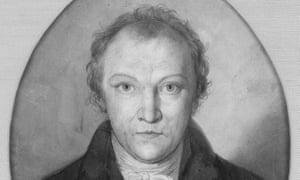 William Blake self-portrait