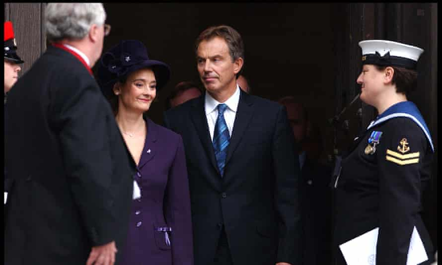 Tony Blair at St Paul's Cathedral in 2003
