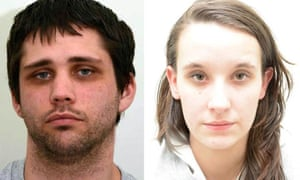 Police handout photo of Nathan Matthews and Shauna Hoare.