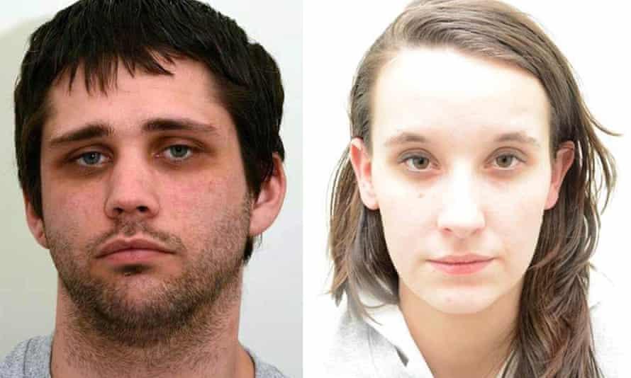 Police handout photo of Nathan Matthews and Shauna Hoare.