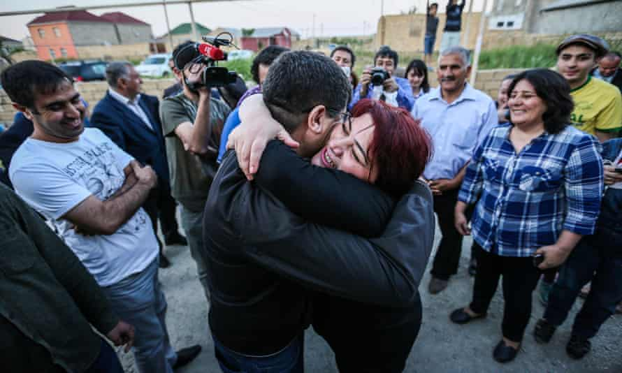Khadija Ismayilova, who was released on probation in May.