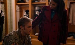 John Walker (Wyatt Russell) and Olivia Walker (Gabrielle Byndloss).