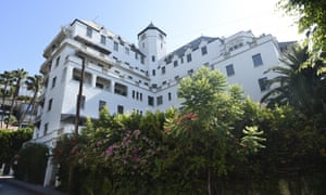 The Chateau Marmont hotel has been a Hollywood hotspot for nearly a century.