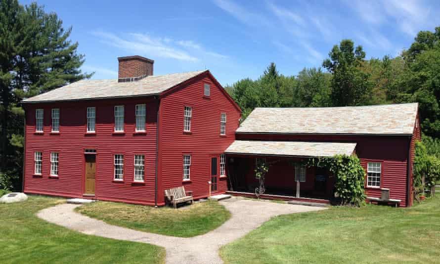 Fruitlands, Massachusetts, where Little Women author Louisa May Alcott lived in the 1840s.