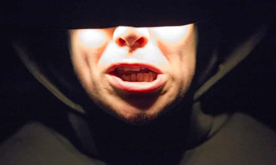 Babble of desperate words … Jess Thom as Mouth.