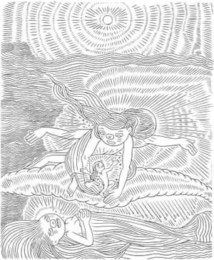 Ron Regé Jr. – Gazeta (after William Blake), 2009