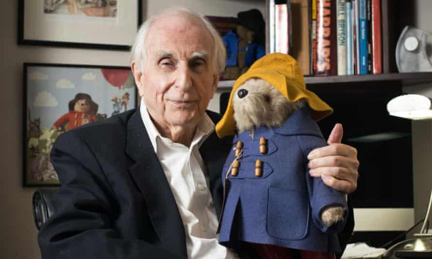Michael Bond, the creator of Paddington Bear at home in Maida Vale
