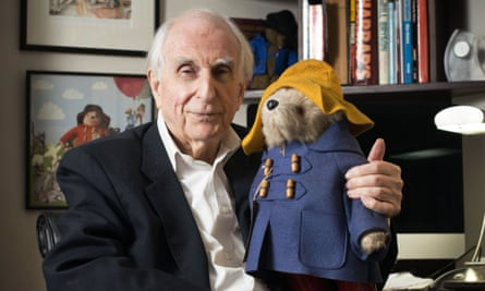 Michael Bond, the creator of Paddington Bear at home in Maida Vale