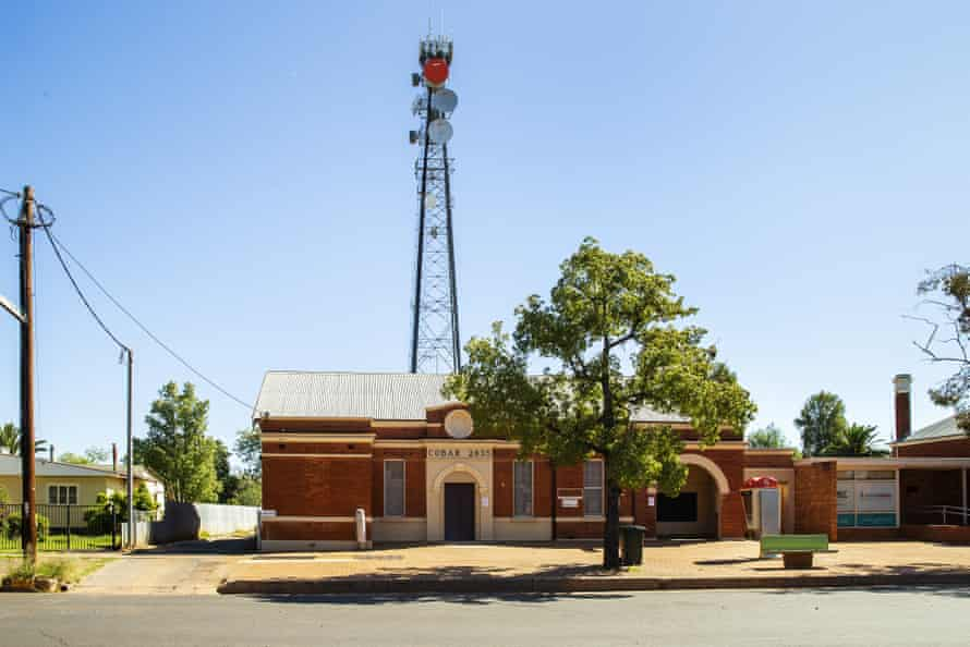 The post office in Cobar, in north western NSW.