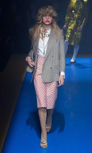 Gucci show, Runway, Spring Summer 2018, Milan Fashion Week, Italy