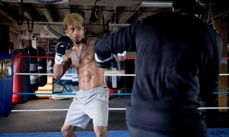 The boxer Kelvin Bilal Fawaz