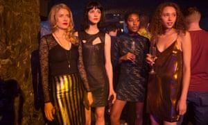 The cast of Clique