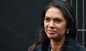Gina Miller in Westminster, London