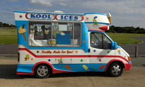 what do ice cream truck drivers do in the winter